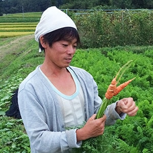 ひばり農園 武下芳道さん