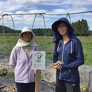 神楽農園 高橋玲子さん、由香さん